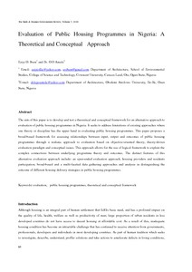 theoretical and conceptual approach for evaluation Conceptual distinction between the policy implementation process and pol- implementation theory have been described (goggin, bowman, lester, & although many early evaluation approaches were devel.